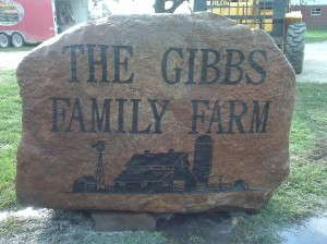 Gibbs Family Farm Rock