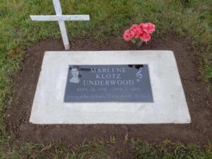 Marlene Klotz Underwood Cemetery
